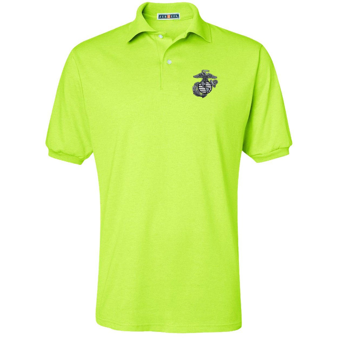 Marines Jerzees SpotShield Safety Polo
