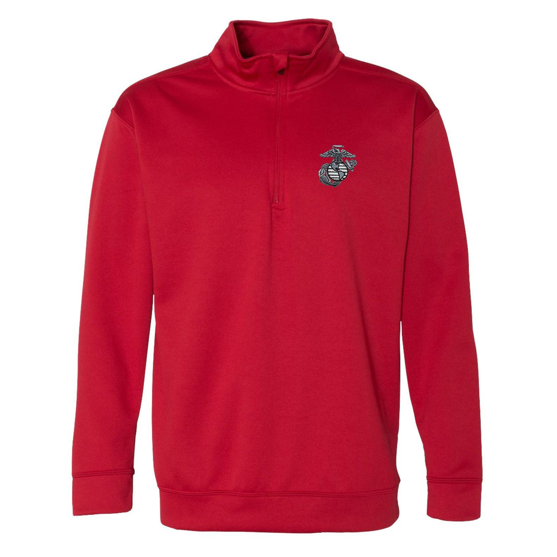 Aluminum EGA Embroidered Performance® Tech Quarter-Zip Pullover Sweatshirt