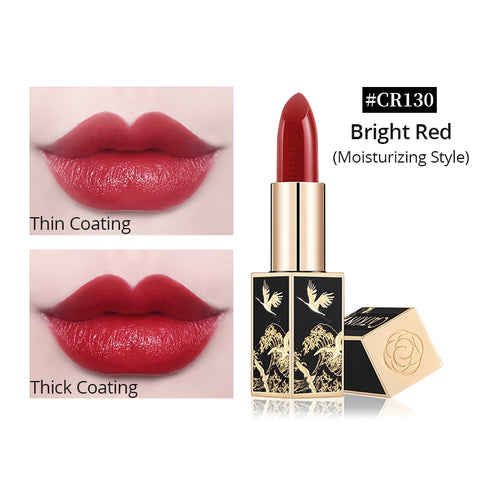 CATKIN Semi-Matte Lipstick Long Lasting Moisturizing Lipstick Chinese Style No Fragrance / Alcohol Suitable For Any Type Of Skin