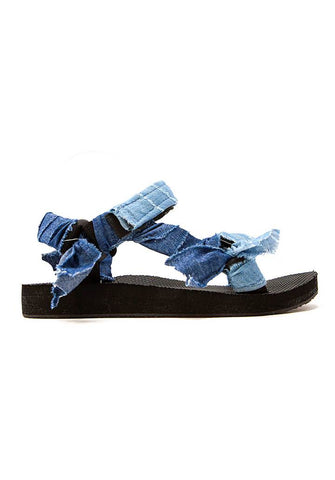 Denim sandals and shoes from Arizona Love at Rue Madame