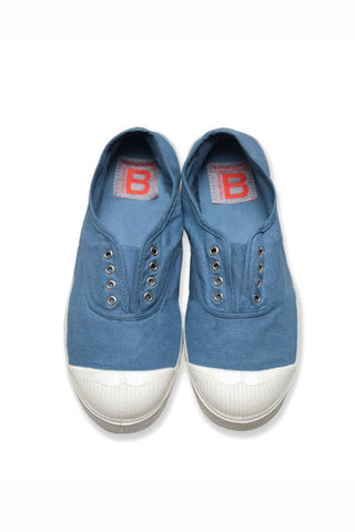 Denim sneakers and shoes from Bensimon at Rue Madame