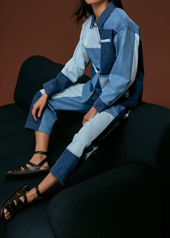 Denim tops and jackets from Whistles at Rue Madame