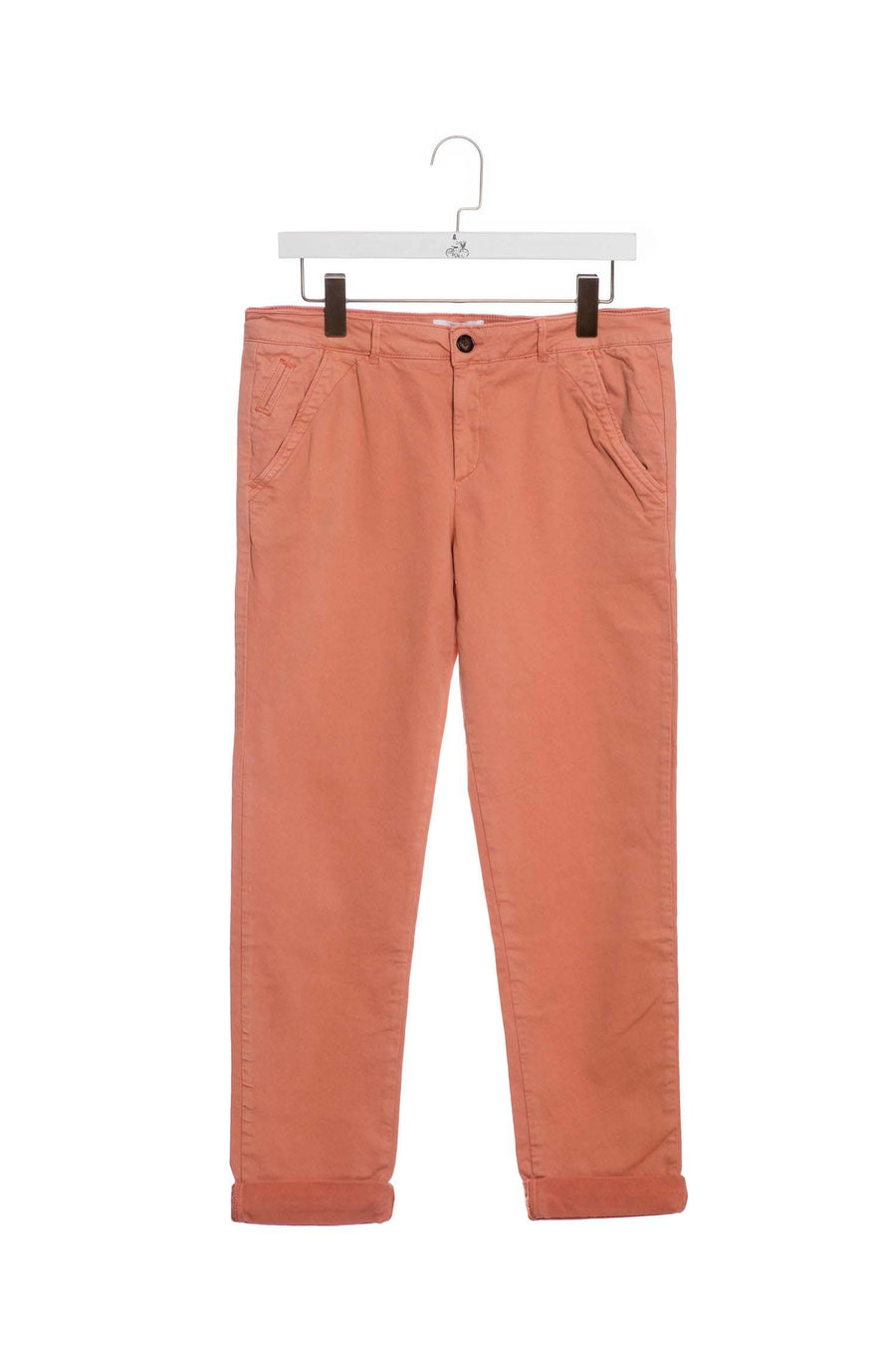 Straight Legged Chino Dirty-Pink