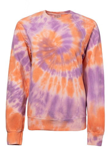 Tie-dye Cotton Blend Sweatshirt