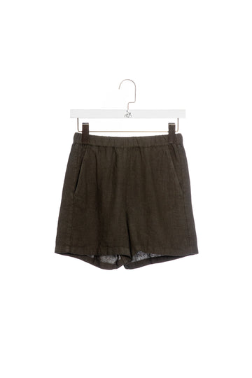 Linen Shorts 61-Army