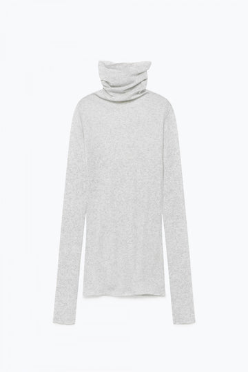 Massachussets' Supima Cotton Turtle-neck Top