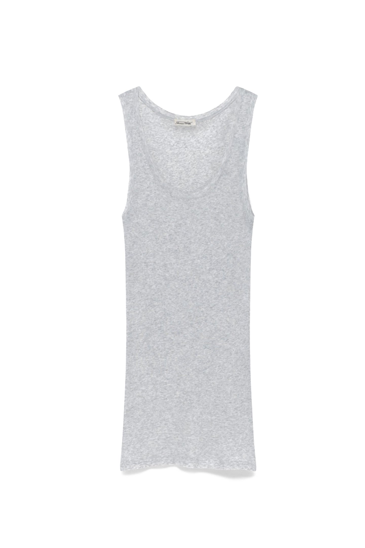 'Massachusetts' Supima Cotton Tank Top Heather-Gre