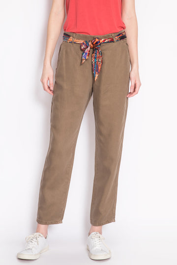 Cropped Straight Leg Chinos Girofle