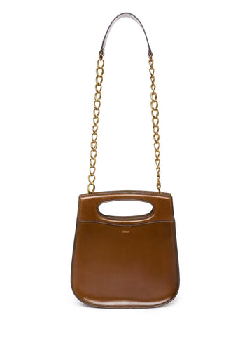 'Cheri' Multiway Leather Bag Bronze