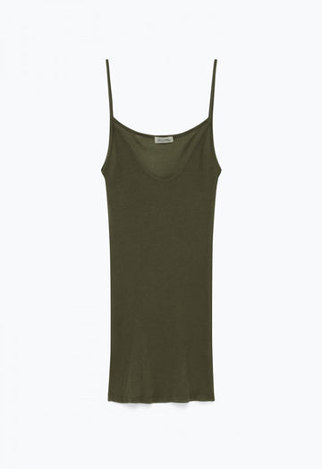 Massachusetts' Supima Cotton Spaghetti Strap Tank Top
