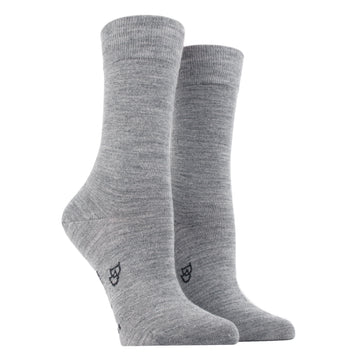 Wool and Cotton Blended Socks 344-Bourrasque