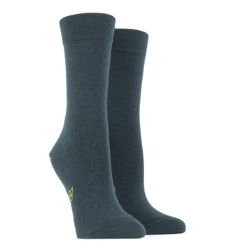 Wool and Cotton Blended Socks 613-Thym