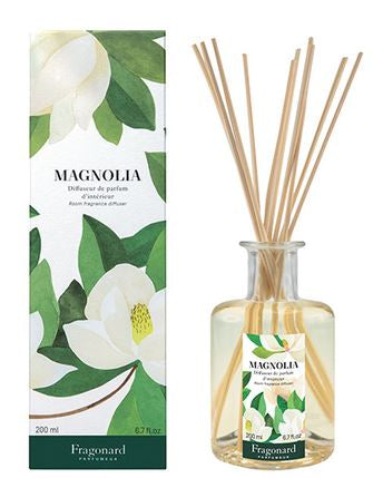 Room Diffuser & 10 Sticks Magnolia