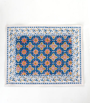 'Antara' Printed Table Mat Blue