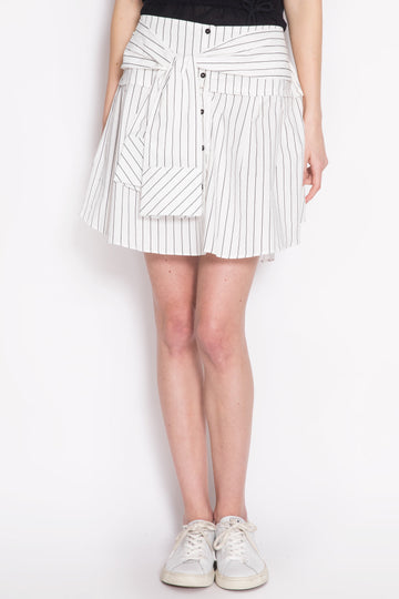 Striped Mini Skirt