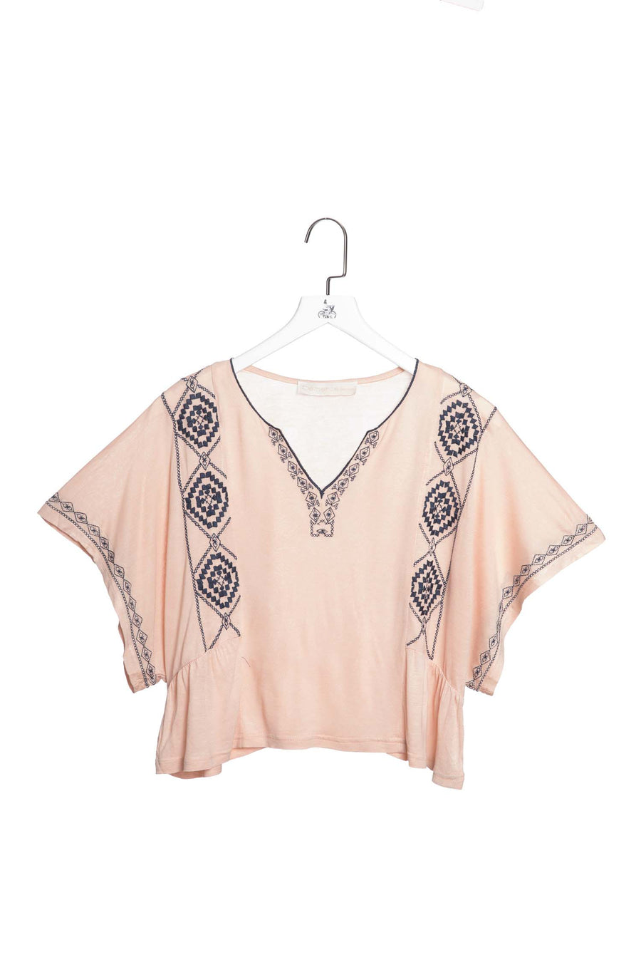 Drop-sleeve Peasant Blouse