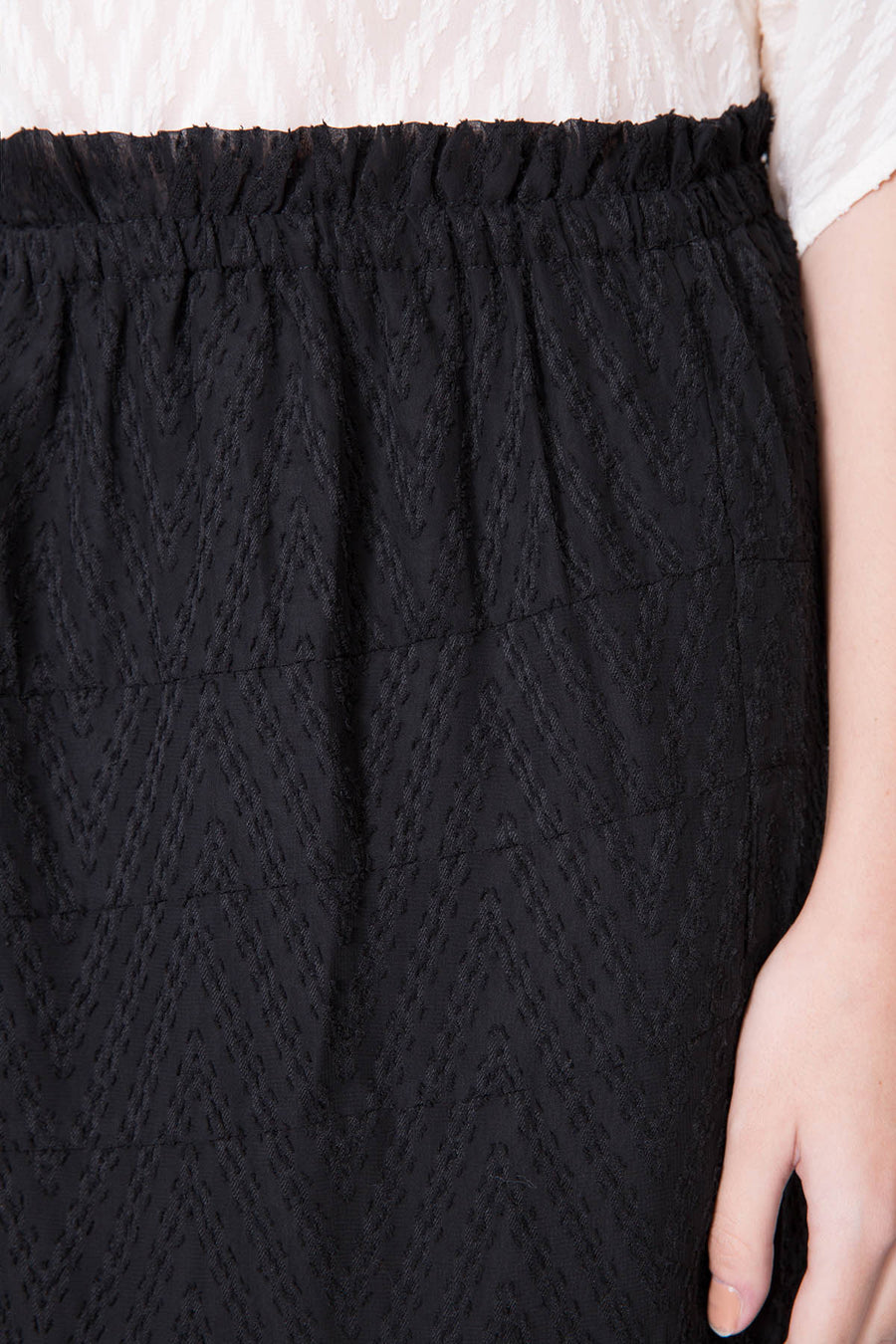 Broderie Anglaised Mini Skirt