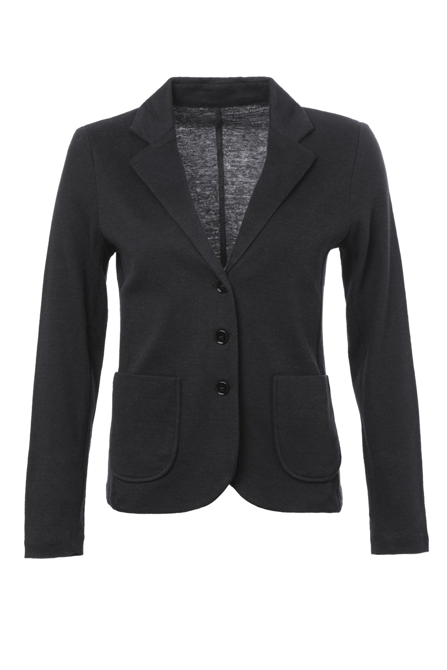 Knitted Blazer Jacket In Cotton And Cashmere Blend