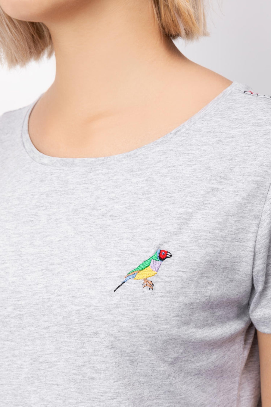 Finch Embroidered T-shirt