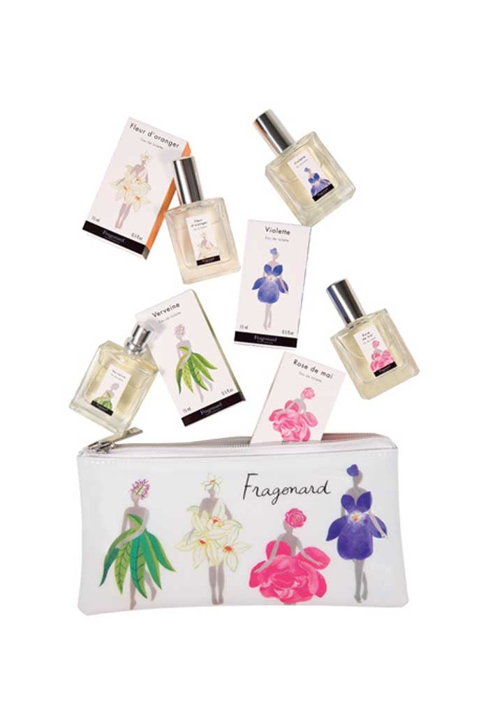 Mini Floral Eau De Toilette Pouch Set