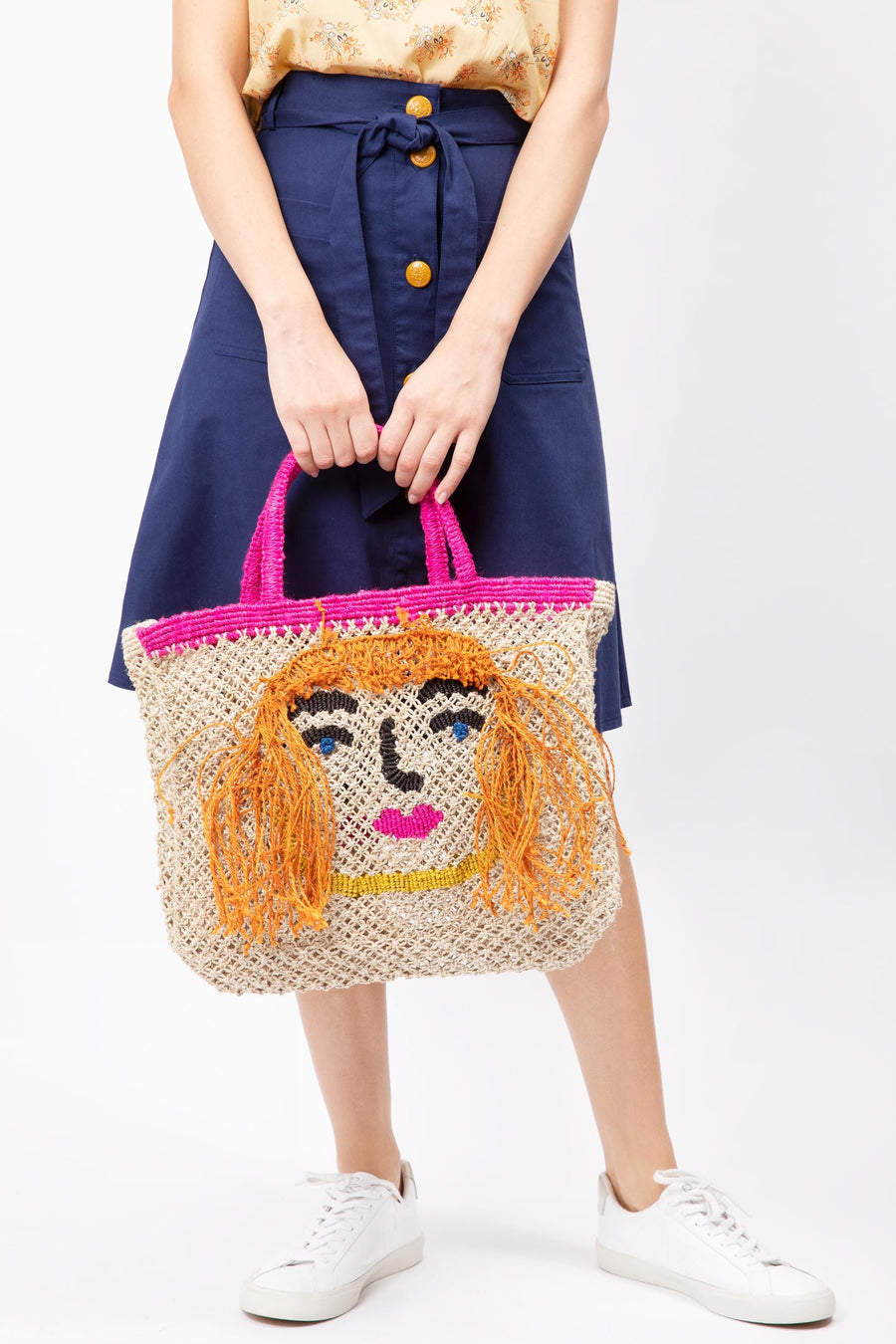 'Miss Rita' Jute Bag (Small) Nat