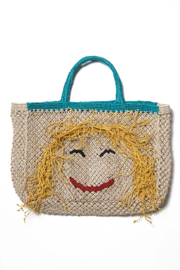 'Miss Molly' Jute Bag (Small) Nat