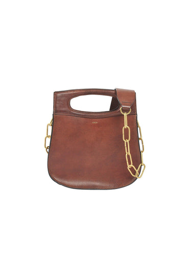 'Cheri' Multiway Leather Bag Cognac