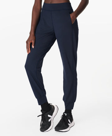 Gary Yoga Trousers Navy-Blue
