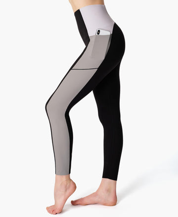 Power High Waist Workout Leggi Black