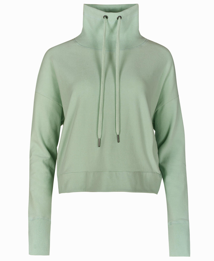 Harmonise Luxe Fleece Sweatshi Salix-Green