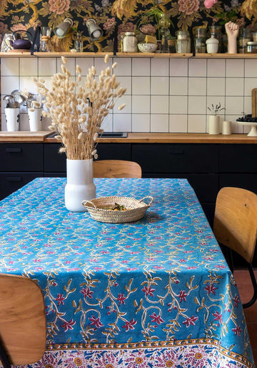 'Anamika' Printed Table Cloth Jean