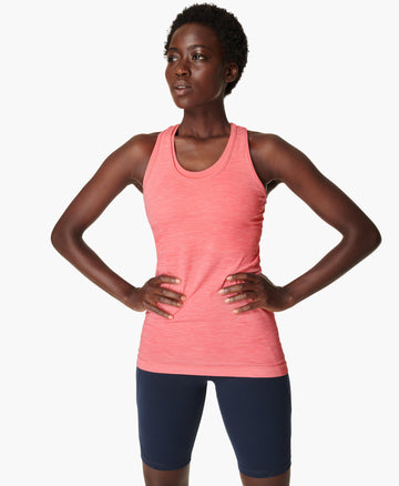 Athlete Seamless Workout Vest Calypso-Pink