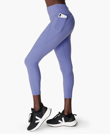 Power 7/8 Workout Leggings Cornflower-Blue