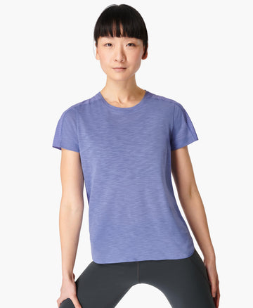 Breeze Running T-shirt Cornflower-Blue