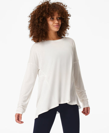 Easy Peazy Top Lily-White