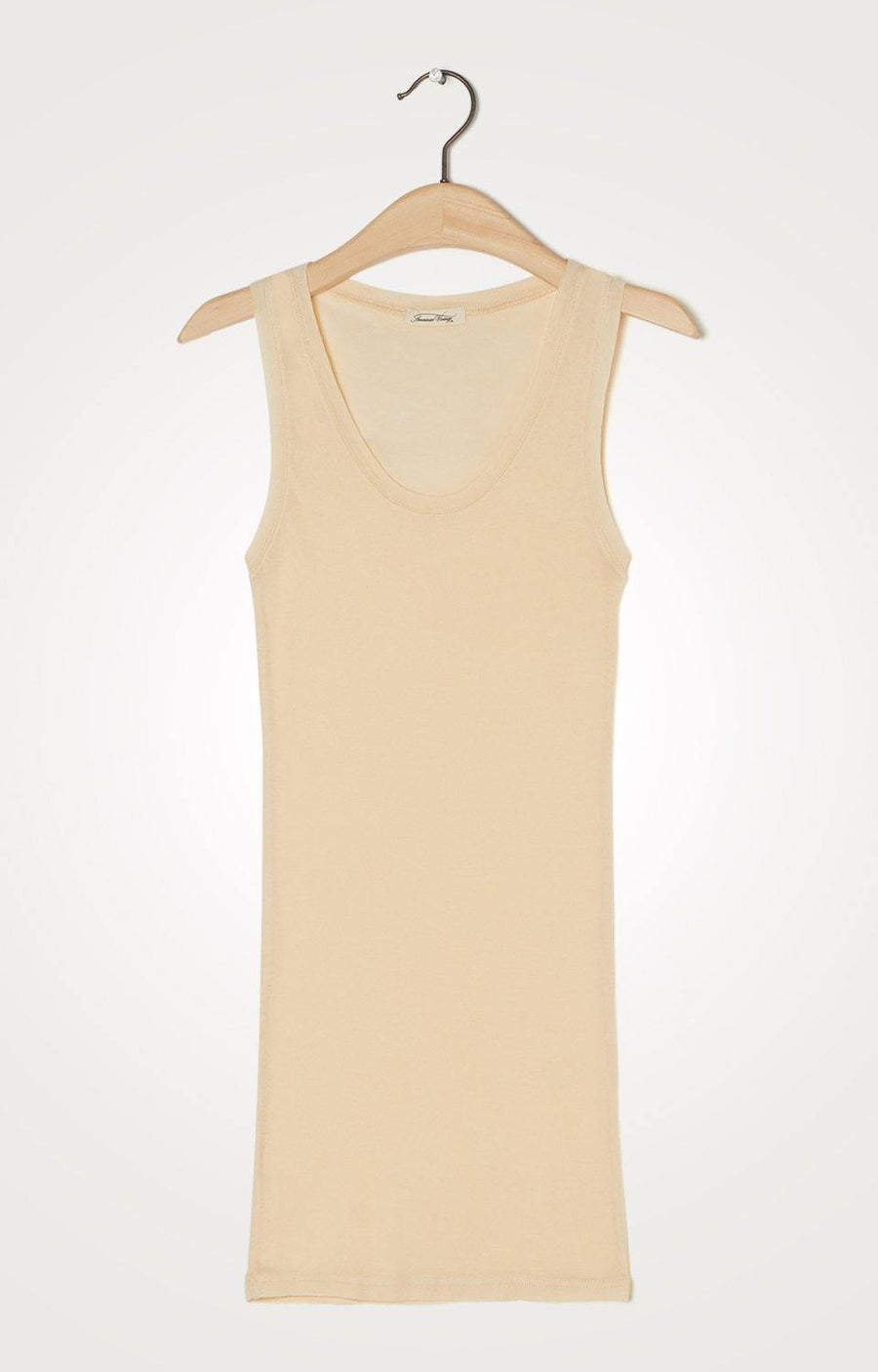 Amv Tank Top Massachusetts Beige-Rose