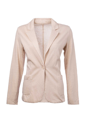 Majestic Jacket Lej1button Sand