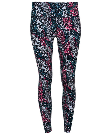 Power 7/8 Workout Leggings Pink-Flower-Stream-P