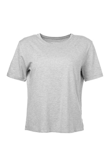 Majestic T-shirt Vernes Light-Heather-Grey