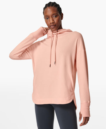Escape Luxe Fleece Hoody Antique-Pink