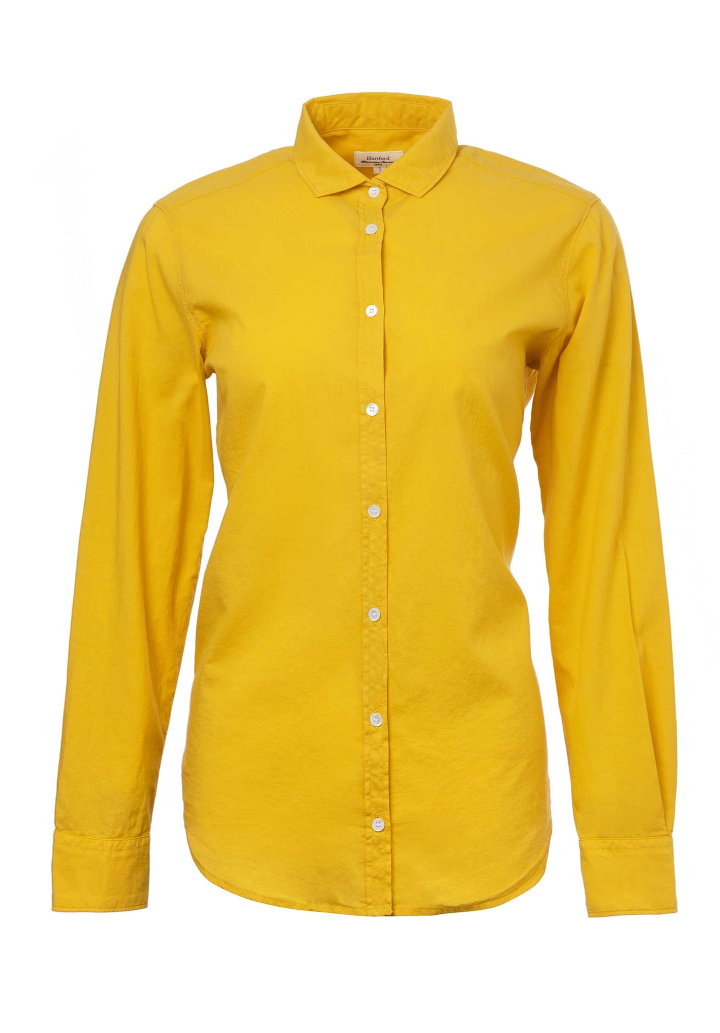 Cotton Long Sleeved Shirt 70-Pineapple
