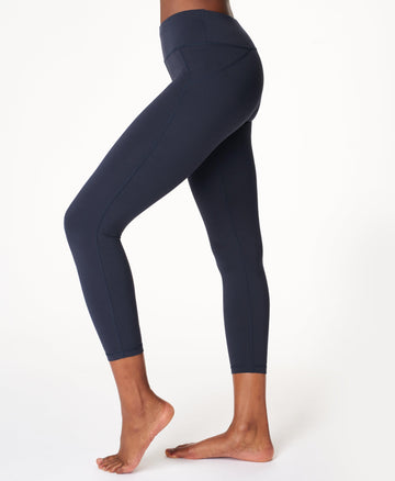 All Day 7/8 Leggings Navy-Blue