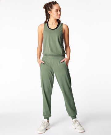 Gary Jumpsuit Heath-Green