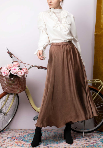 Mes Demoiselles Skirt Libre Terracotta