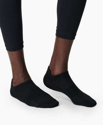 Barre Gripper Socks 2 Pack Black