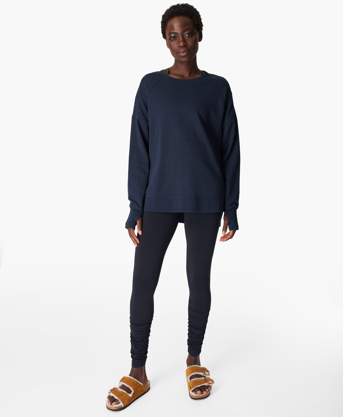 After Class Sweatshirt Navy-Blue