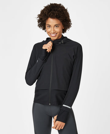 Fast Track Running Jacket Black