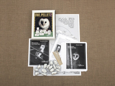 Owl Pellet Dissection Kits