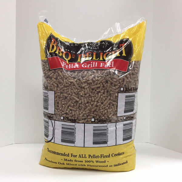BBQR's Delight Peach Flavor Wood Smoking Pellets 20 pounds - Bourlier's Barbecue and Fireplace