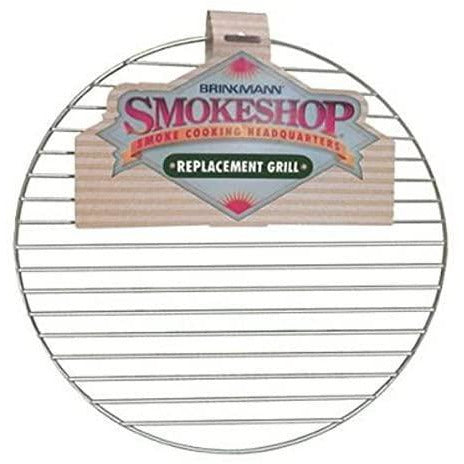 "Brinkmann Smoke Shop Replacement 15.5"" Round Chrome Cooking Grill 115-0003-0 - Bourlier's Barbecue and Fireplace"